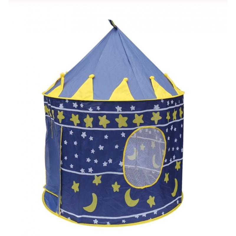 Tienda de juegos Castillo portátil plegable Tipi Prince tienda plegable niños Castillo Cubby casa de juegos regalos para niño...