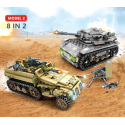 1061 Uds., técnica militar, hierro, Imperio, bloques de construcción de tanques, juegos de armas, carro de guerra, creador, e...