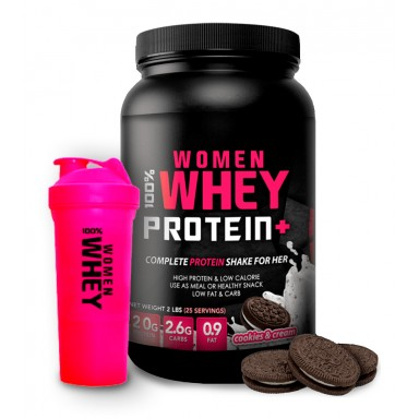 Women Whey Cookies + Shaker