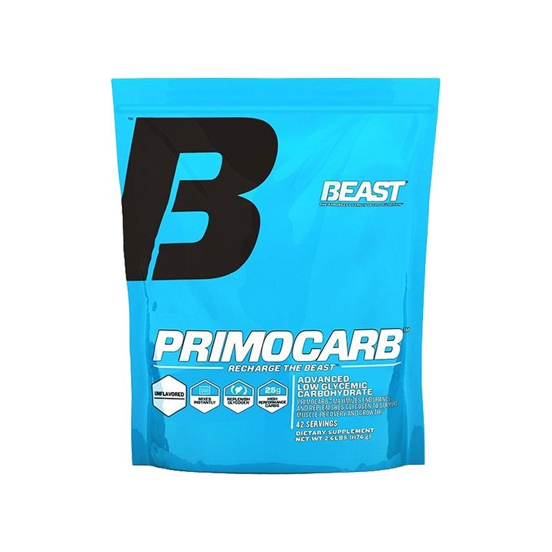 PRIMO CARB 42 SRV - BEAST Suplementos Alimenticios