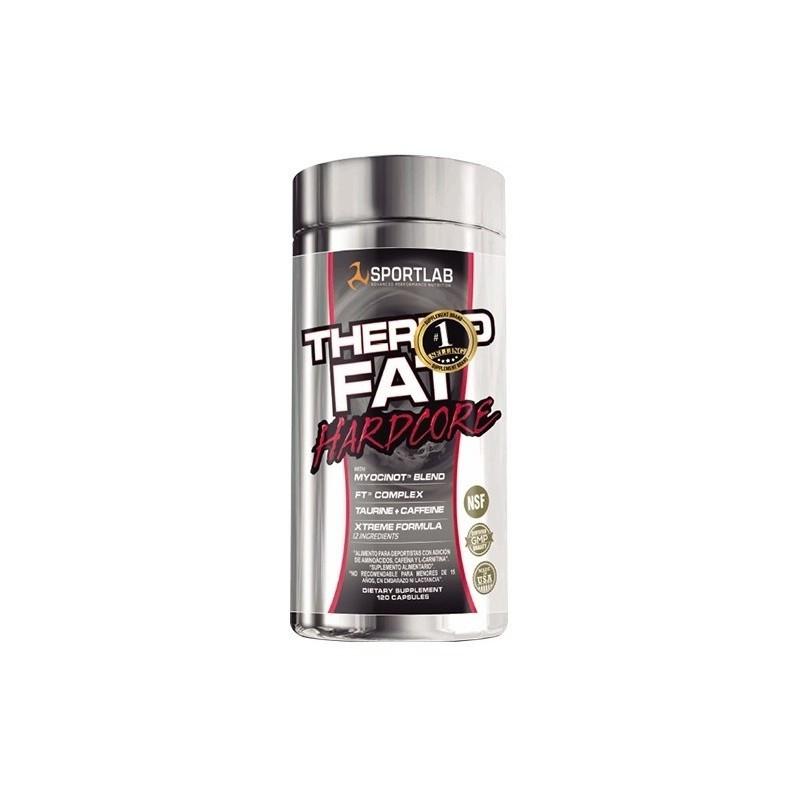 THERMO FAT HARDCORE 2.0 60 CAPS Suplementos Alimenticios