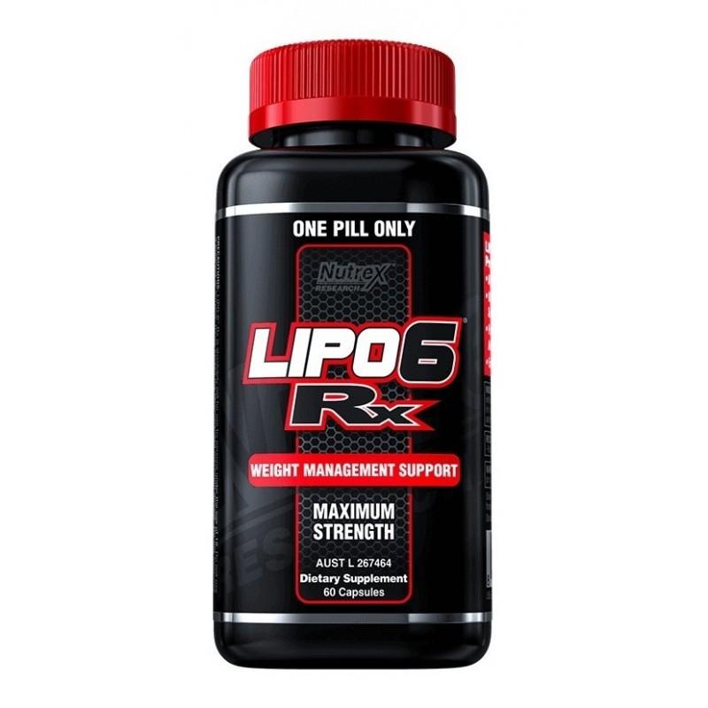LIPO 6 RX 60 CAPS Suplementos Alimenticios