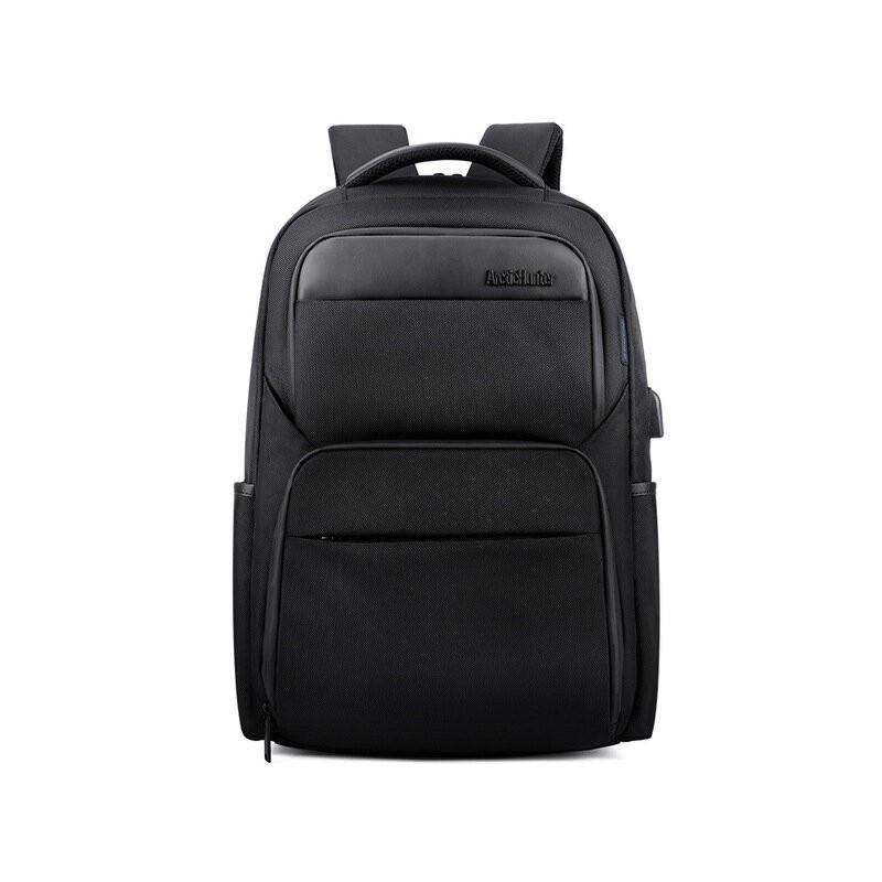 Mochilas antirrobo de carga USB para hombre a prueba de golpes impermeables 15,6 pulgadas negras para hombre mochilas para po...