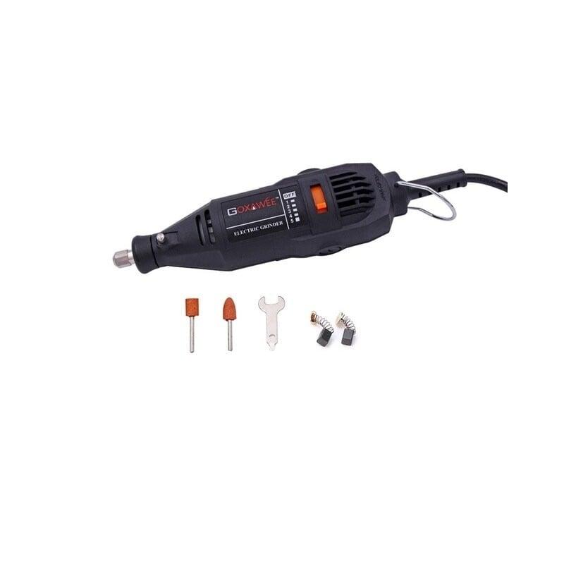 Minitaladro eléctrico GOXAWEE de 110 V/220 V para herramientas de potencia rotativa dremel con 5 velocidades variables Herram...