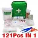 Mini Kit de bolsa de primeros auxilios para acampar, senderismo, equipo de emergencia médica, paquete de tratamiento para sup...