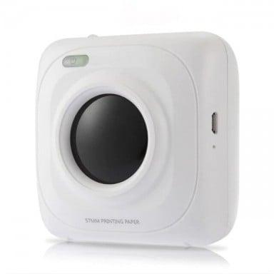 Impresora térmica Portátil con Bluetooth, Mini impresora térmica de bolsillo para iOS, Android, Windows, portátil, máquina de im