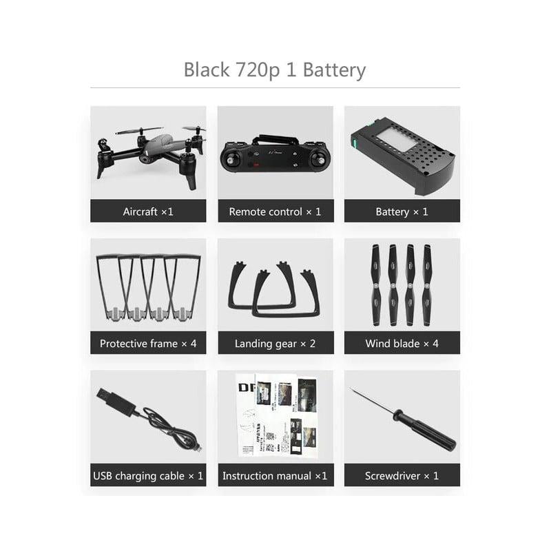 Dron SG106 RC 4K 1080P 720P HD de doble cámara de flujo óptico Quadcopter aéreo Wifi FPV Drone largo juguetes de batería para...