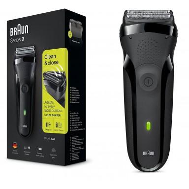 Afeitadora BRAUN Series 3 300S Black